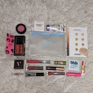 BRAND NEW Bundle of Makeup w/ Cosmetic Bag